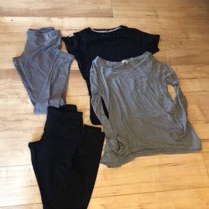Loungewear Lot with Lululemon Leggings